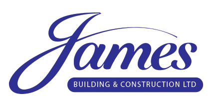 James Builders and Construction Logo